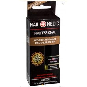 Активное аргановое масло для ногтей NAIL MEDIC PROFESSIONAL и кутикулы фото