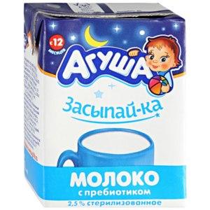 Детское молоко Агуша Засыпай-ка фото