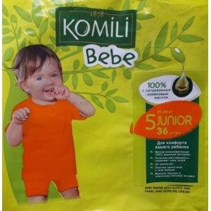 Подгузники Komili Bebe junior, 11-25 кг фото