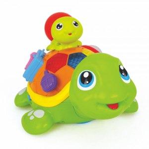Игрушка музыкальная Golden Toys Черепаха с малышом фото
