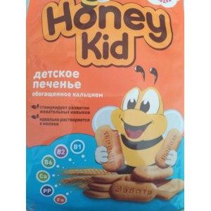 Детское печенье Honey Kid Обогащённое кальцием фото