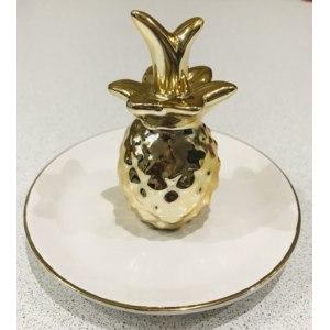Декоративная тарелка Fix Price Для аксессуаров и ювелирных украшений Арт.Yj050190009-1 фото