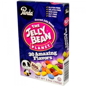 Жевательные конфеты Panda The Jelly Bean Planet, Gourmet Beans, 30 Amazing Flavors фото