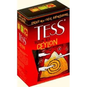 Чай  Tess ceylon цейлон высокогорный черный фото