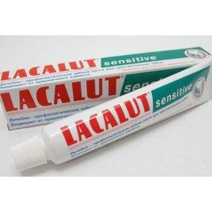 Зубная паста Лакалют Lacalut sensitive фото