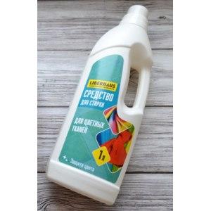 Жидкое средство для стирки LIBERHAUS praktische produkte для цветных тканей фото