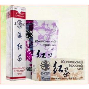 Чай  Черный дракон Юньнаньский красный фото