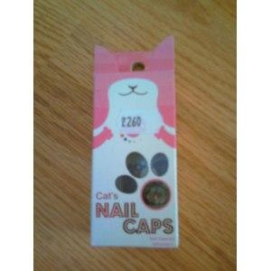 Защитные колпачки на когти  Cat's NAIL CAPS фото