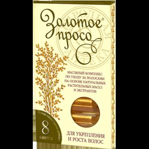 Масло для волос Фратти НВ Золотое просо, масляный комплекс по уходу за волосами фото