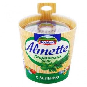 Творожный сыр Hochland Almette с зеленью фото