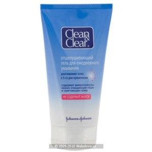 Гель для умывания Clean&Clear отшелушивающий  фото