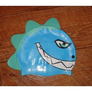 Шапочка для плавания ONLITOP Детская силиконовая безразмерная фото