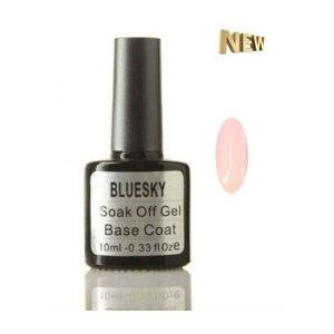 База для гель-лака BLUESKY Камуфлирующая каучуковая Soak off gel Rubber base coat фото
