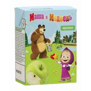 Нектар Южная соковая компания  Маша и медведь Яблоко фото