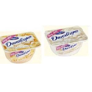 Десерт Danone Даниссимо пломбир и крем-брюле фото