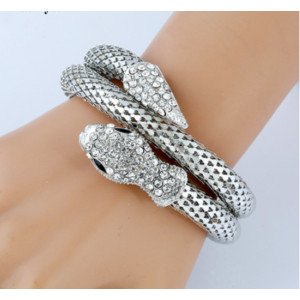 Браслет Aliexpress Pulseiras Pulseira Bracelet for Women Fashion Gothic Stretch Spiral Design фото