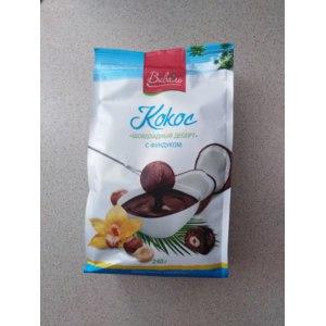 Конфеты шоколадные ВИВАЛЬ Кокос шоколадный десерт с фундуком  фото