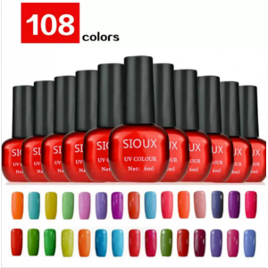 Гель-лак для ногтей Aliexpress UV Nail Gel Polish UV&LED Shining Colorful 108 Colors 6ml Long lasting soak off cheap free shipping super discount фото