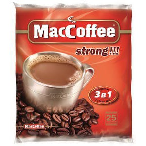 Кофе MacCoffee strong 3 в 1 фото