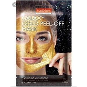 Маска-пленка для кожи лица Purederm Galaxy Gold Peel-off Mask фото