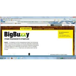BigBuzzy.ru сайт с ежедневными скидками фото