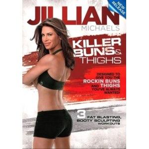 Jillian Michaels - Killer Buns and Thighs / Джилиан Майклс - Убийца жира на бедрах и ягодицах (Аппетитные ягодицы и бедра) фото