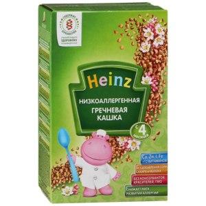 Детское питание Heinz низкоаллергенная гречневая каша фото