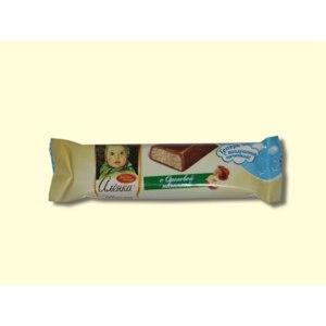 Шоколад Красный октябрь Алёнка с ореховой начинкой фото