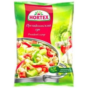 """Овощи замороженные Hortex """"Президентский суп"""" фото"""