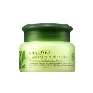 Крем для лица Innisfree Green Tea Pure Deep Cream фото