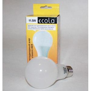 Светодиодная лампа Ecola Classic A65 11,5 Вт 220V E27 4000K фото