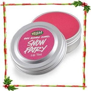 Бальзам для губ Lush Снежная фея (snow fairy) фото