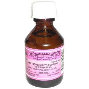 Антисептическое средство   Борная кислота фото