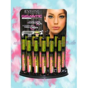 Тушь Eveline GIGANTIC VOLUME mascara фото