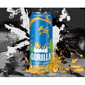 Энергетический напиток Gorilla mango coconut фото
