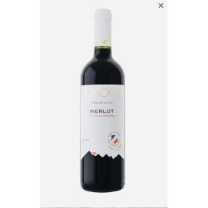 Вино красное сухое 2017 года De Aguirre KOKORO Merlot фото