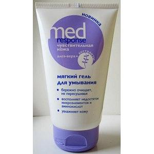Гель для умывания 36`6 Med Response Мягкий чувствительная кожа алоэ-вера и экстракты  фото
