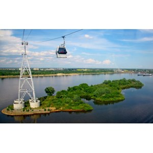 Нижегородские канатные дороги фото