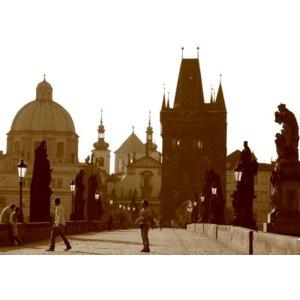 Чехия. Прага. Карлов мост. / Karluv most Praha / Charles Bridge Prague фото