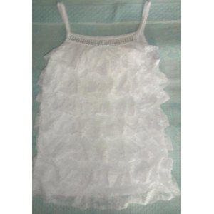 Топ AliExpress Wholesale - 2012 New arrival sweety cake layer lace Waistcoat Camisole chiffon Tank Tops 4 colors Vest фото