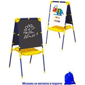 Детская мебель Ника Мольберт двухсторонний модель М1 фото