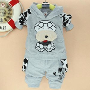 Комплект AliExpress Free Shipping Spotted dog kids children's clothes boys girls sport suits baby clothes фото