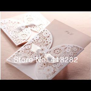 Свадебное приглашение Wedding-Invitation-Card-with-Envelope aliexpress фото
