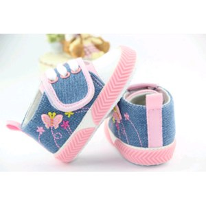 Кеды Aliexpress Hot sale children's shoes infant baby girls shoes soft sole cute bulterfly design baby walk shoes 2 colors+free shipping фото