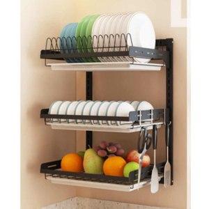 Кухонная сушилка для посуды Aliexpress 304 Stainless Steel Kitchen Dish Drainer фото