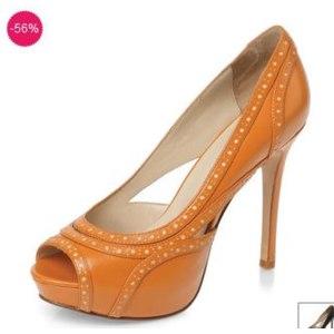 Туфли летние женские Mascotte Арт: 3410602A-216 рыжие фото