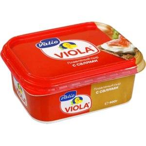 Плавленый сыр Valio Viola с салями фото