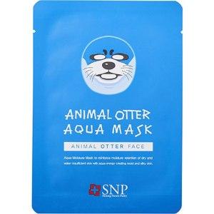 Тканевая маска для лица SNP Animal Otter Aqua Mask фото