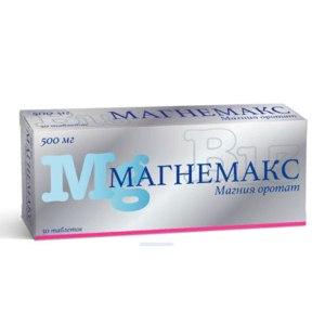 Метаболическое средство АО «ФП «Оболенское» Магнемакс фото