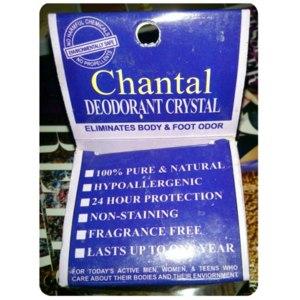 Део-кристалл Chantal Deodorant Crystal фото